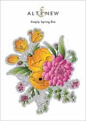 Altenew Simply Spring -stanssi