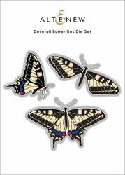 Altenew Dovetail Butterflies -stanssi