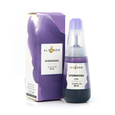 Altenew Alcohol Ink -muste, sävy Hydrangea