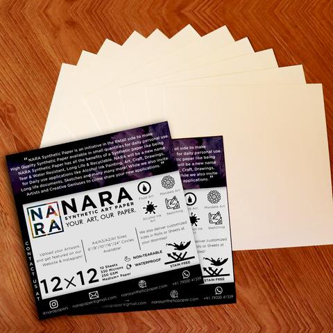 NARA synteettinen paperi, 9
