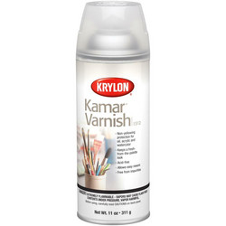 Krylon Kamar Varnish Aerosol Spray -vernissasuihke