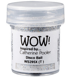 Wow! Embossing Glitters -kohojauhe, sävy Disco Ball by Catherine Pooler, Mixture (T)