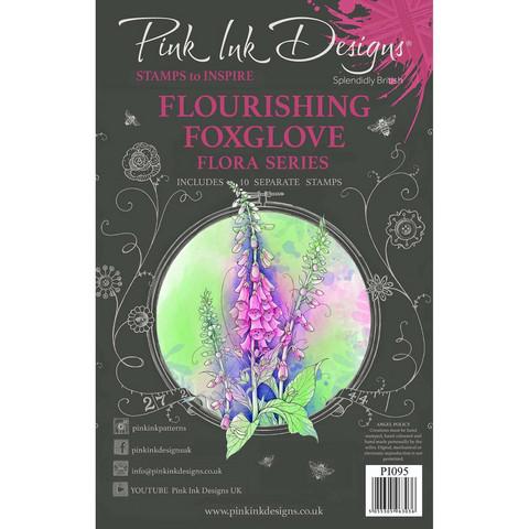 Pink Ink Designs leimasinsetti Flourishing Foxglove