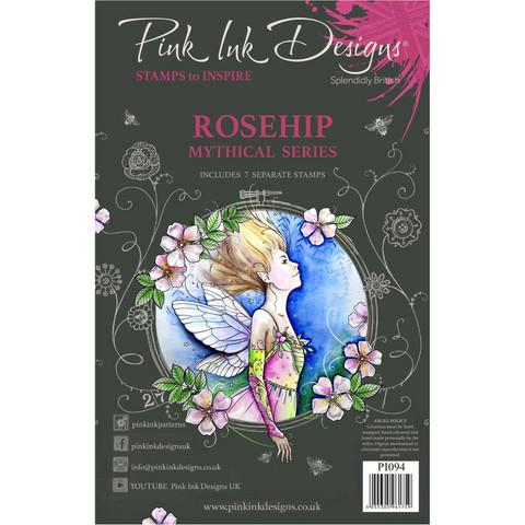 Pink Ink Designs leimasinsetti Rosehip