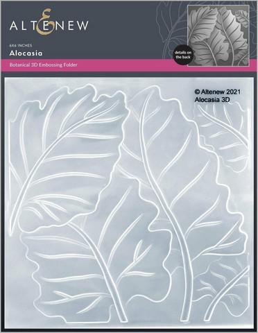 Altenew 3D kohokuviointikansio Alocasia