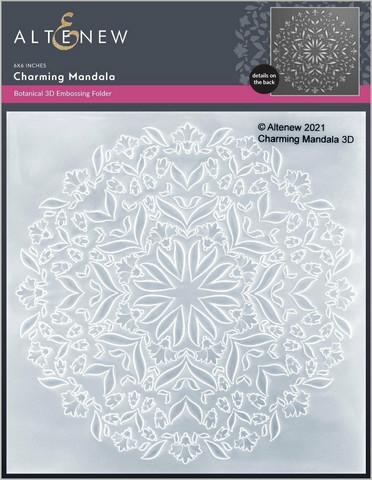 Altenew 3D kohokuviointikansio Charming Mandala