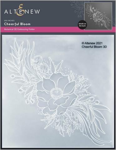 Altenew 3D kohokuviointikansio Cheerful Bloom