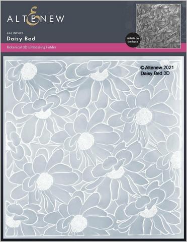 Altenew 3D kohokuviointikansio Daisy Bed