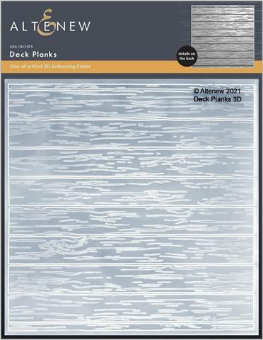 Altenew 3D kohokuviointikansio Deck Planks