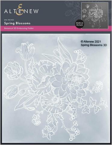 Altenew 3D kohokuviointikansio Spring Blossoms