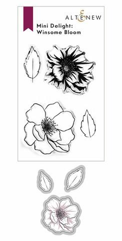 Altenew Mini Delight: Winsome Bloom -leimasin- ja stanssisetti