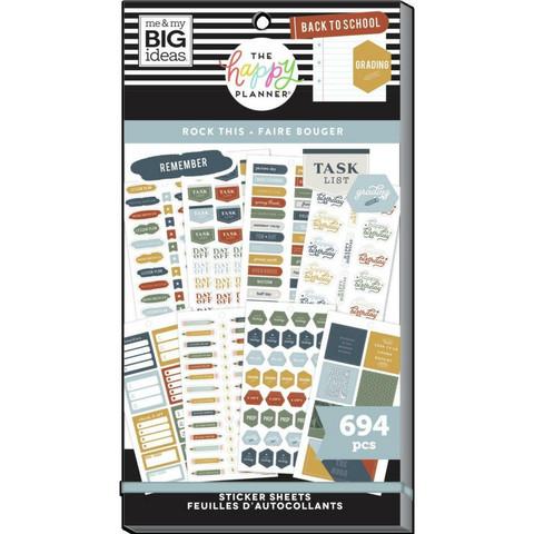 Mambi Happy Planner Value Pack -tarrapakkaus Rock This