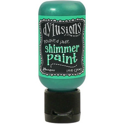 Dylusions Shimmer Paint -akryylimaali, sävy Polished Jade