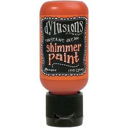 Dylusions Shimmer Paint -akryylimaali, sävy Tangerine Dream