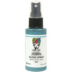 Dina Wakley Media Gloss Spray -suihke, sävy Sky, 56 ml