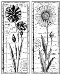 Crafty Individuals leimasin Tall Wild Flowers