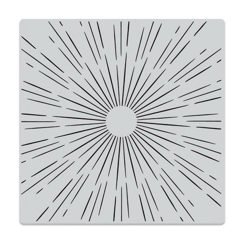 Hero Arts leimasin Sun Ray Bold Prints