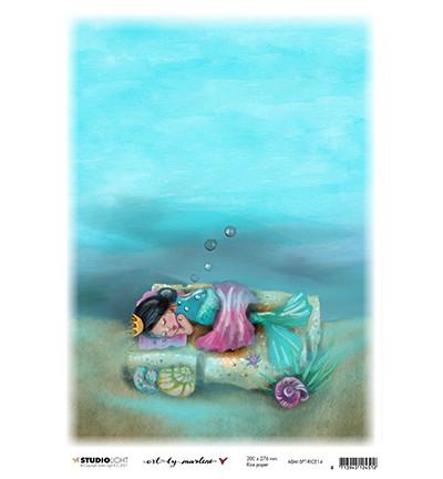 Studio Light riisipaperi Art By Marlene So-Fish-Ticated, Deep Sleep