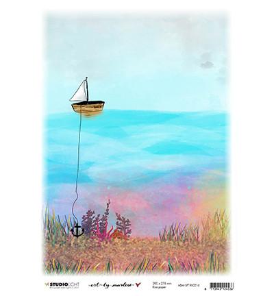 Studio Light riisipaperi Art By Marlene So-Fish-Ticated, What Lies Beneath