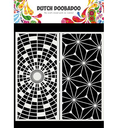 Dutch Doobadoo Slimline Art -sapluuna