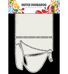 Dutch Doobadoo Cart Art Sailboat -sapluuna