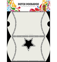 Dutch Doobadoo Box Art Envelope With Star -sapluuna