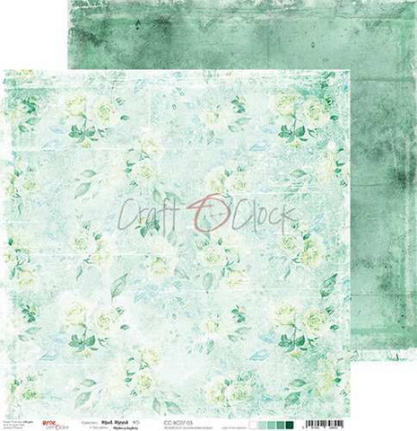Craft O'clock skräppipaperi Mint Mood 05