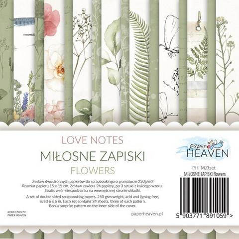 Paper Heaven paperipakkaus Love Notes Flowers