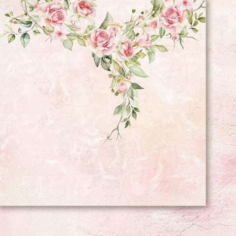 Paper Heaven skräppipaperi Rose Wine 01
