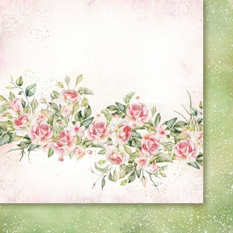 Paper Heaven skräppipaperi Rose Wine 03