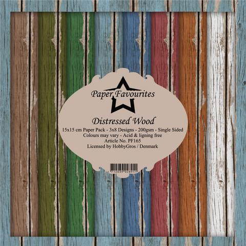 Paper Favourites Distressed Wood  -paperipakkaus