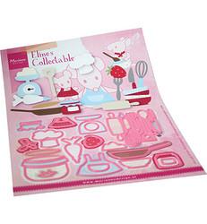 Marianne Design stanssisetti Eline's Kitchen Accessories