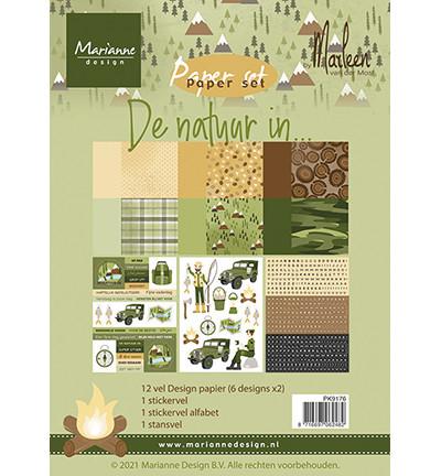Marianne Design De Natuur In by Marleen -paperikko