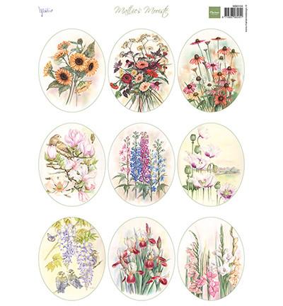 Marianne Design korttikuvat Field Bouquets