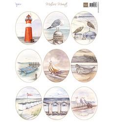 Marianne Design korttikuvat Beach