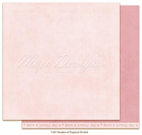 Maja Design Monochromes - Shades of Tropical skräppipaperi Orchid