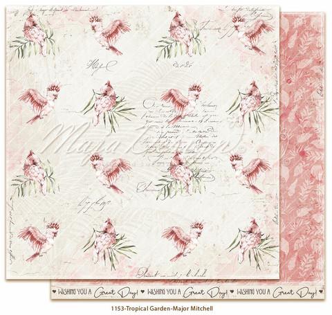 Maja Design Tropical Garden skräppipaperi Major Mitchell