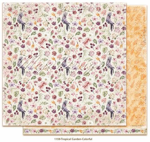 Maja Design Tropical Garden skräppipaperi Colorful