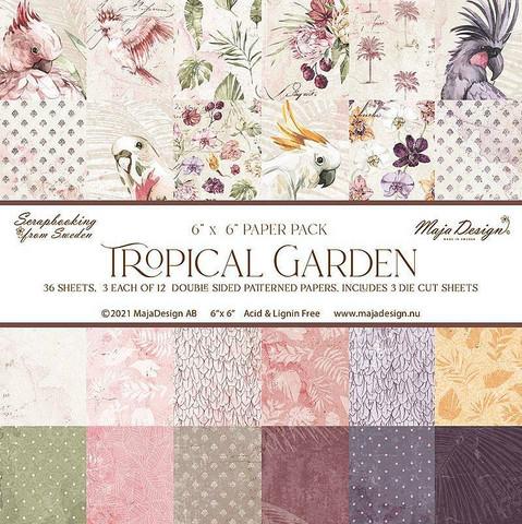 Maja Design Tropical Garden -paperipakkaus