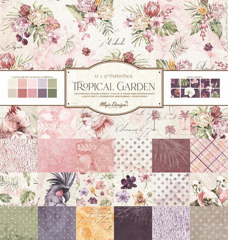 Maja Design Tropical Garden Collection Pack -paperipakkaus 12