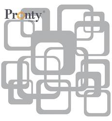 Pronty sapluuna Retro Pattern Squares