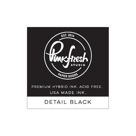 Pinkfresh Hybrid Ink -mustetyyny, Black Detail, pieni