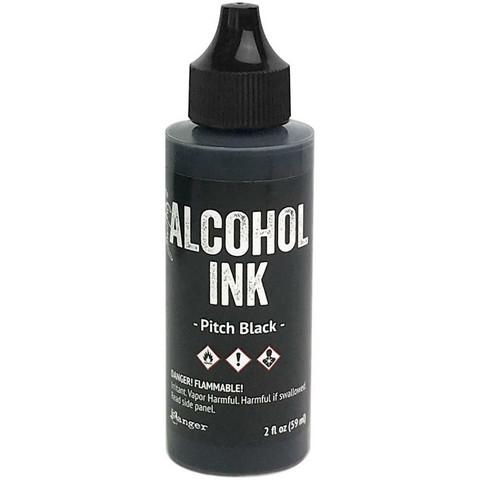 Tim Holtz alkoholimuste, sävy Pitch Black, 59 ml