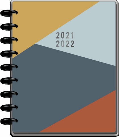 Mambi Classic Planner, Teacher -kalenteri, Rock This, 12 kk päivätty, II-laatu