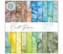 Craft Consortium Ink Drops, Earth -paperipakkaus