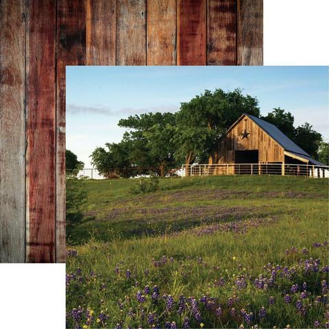 Reminisce Barnwood Beauty skräppipaperi #1