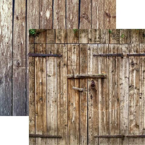 Reminisce Barnwood Beauty skräppipaperi #3