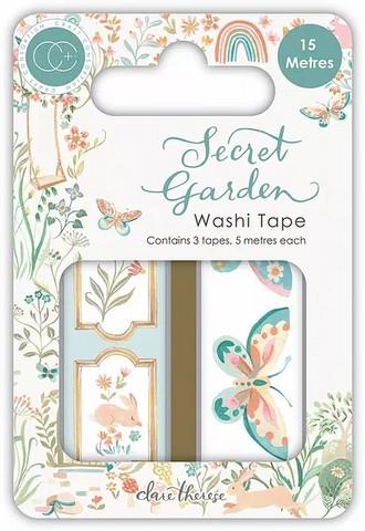 Craft Consortium Secret Garden Washi -teipit