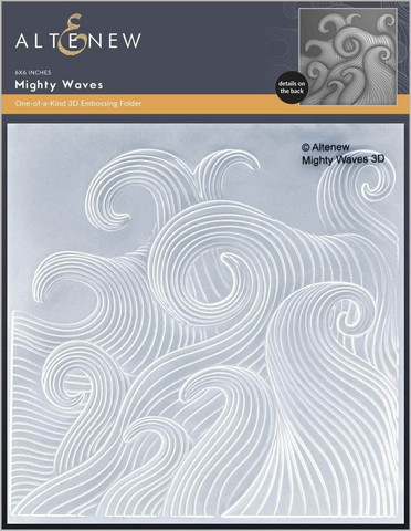 Altenew 3D kohokuviointikansio Mighty Waves