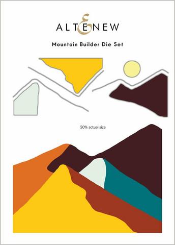 Altenew Mountain Builder -stanssisetti